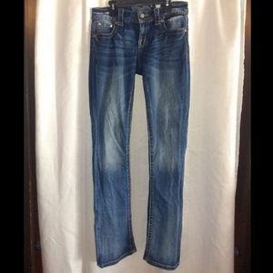 Miss Me Jeans - MISS ME MID-RISE SLIM BOOT CUT JEANS